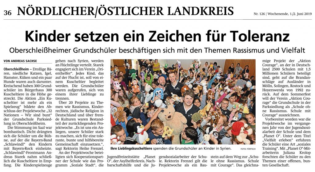 Münchner Merkur / 01. Juni 2019