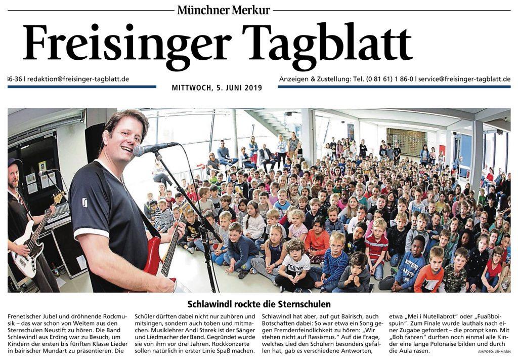 Freisinger Tagblatt / 05. Juni 2018